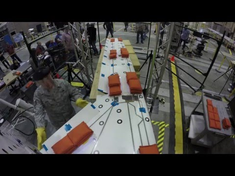 X-56 Flexible Wing Static Proof Loads Tests