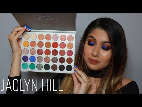 Jaclyn Hill x Morphe Eyeshadow Palette - Tutorial de Maquillaje Smokey Eye Azul thumbnail