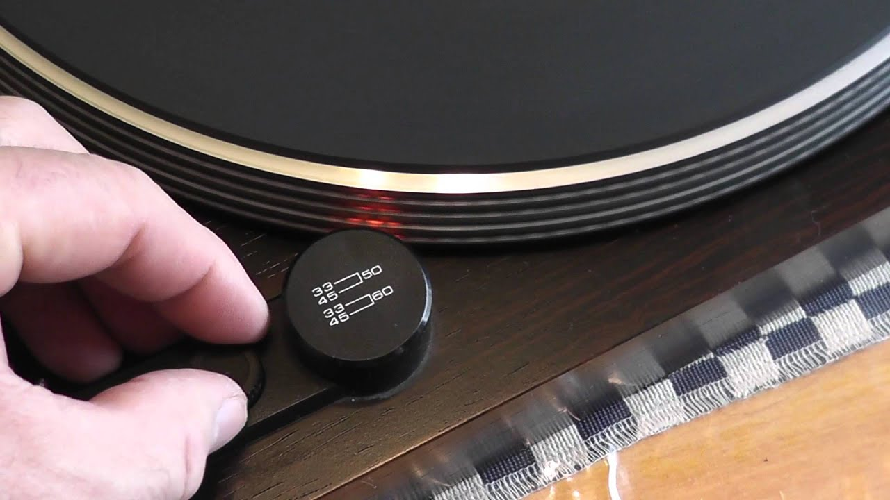 Repair of a Micro Seiki MB-18 Turntable