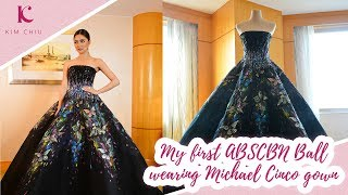 My first ABS-CBN Ball wearing Michael Cinco gown | Kim Chiu PH