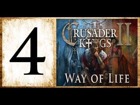 Crusader kings 2, Way of life - Vujo the viking #4 - Invasion of the south |