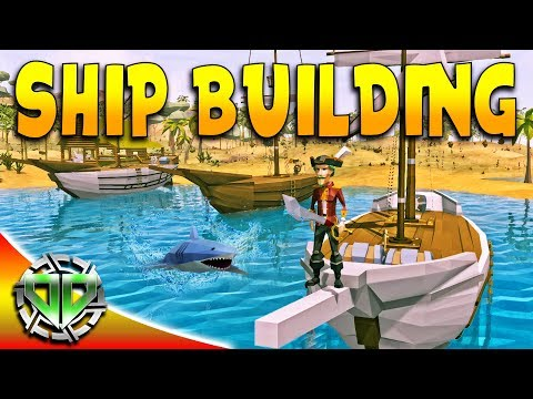 Ship Building & Exploration : YLands Gameplay : PC Early Access Best Creations