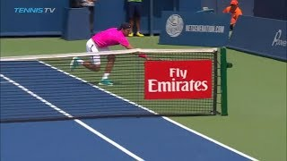 Hot Shot: Think Murray's Drop Shot Was Good? Pouille Has The Answer In Cincinnati 2018