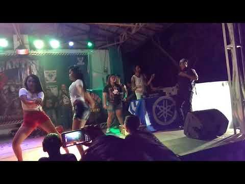 DJ D'poL CrossLine DJ show @ banten,  rangkas bitung with Byonic Banten (sexy dancer Part 1)