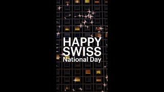 Happy Swiss National Day!