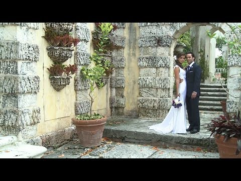 Vizcaya, Miami Wedding Video by Broadway Wedding Films