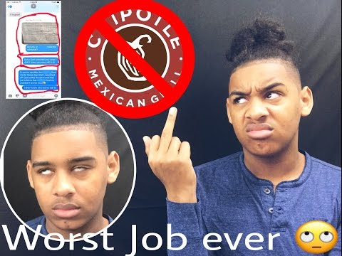 Worst Job: Chipotle (I WAS A SLAVE)|Story time