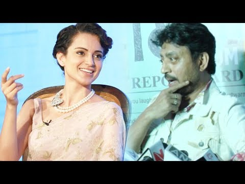 Irrfan Khan Funny Comment On Kangana Ranaut's Bollywood Career