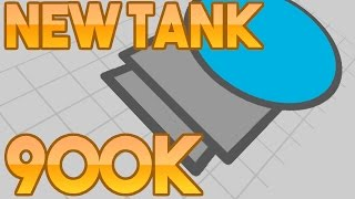 Diep.io - 900,000 SCORE With NEW Destroyer Tank (Maze)