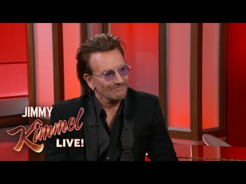 Jimmy Kimmel Interviews Bono About the Fight Against AIDS