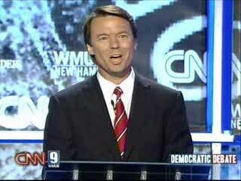 2007 NH Democratic Presidential Debate (Part 1)