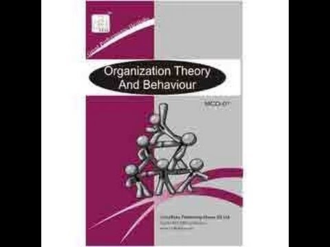 Organisation and Behaviour lecture 1