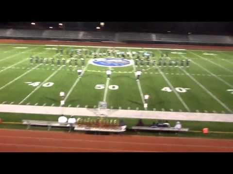 Greensville County High School Marching Band 2012