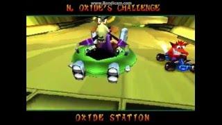 Crash Team Racing N.Oxide sin atajos , sin armas y sin trucos , solo velocidad.