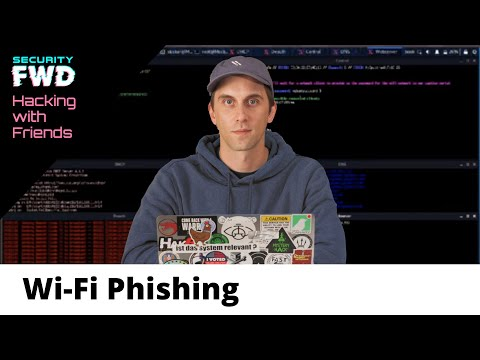 Wi-Fi Phishing For Passwords With Cheap Microcontrollers