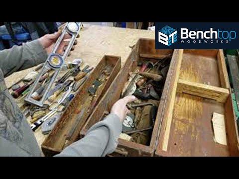 Toolbox Time Capsule, unpacking a 1930-1950s era Carpenters Toolbox!
