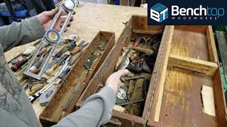 Toolbox Time Capsule, unpacking a 1930-1950s era Carpenters Toolbox!