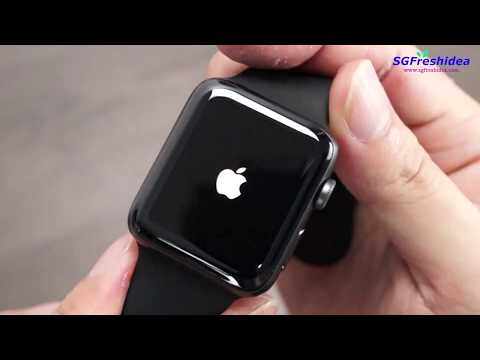 Apple iWatch Tempered Glass Screen Protector - Apple Watch Series 42mm - 44mm - Installation guide