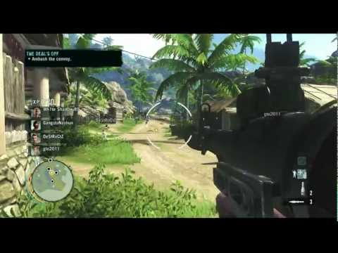 Far Cry 3 - Online Co op Sidetracked FULL MISSION