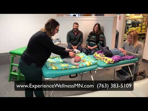 Twin Babies See The Chiropractor