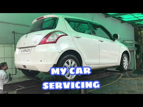 VLOG#2  MY CAR SERVICING  , STEP BY STEP PROCEDURE ,MUST WATCH THIS