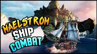 LEVIATHAN, GODZILLA, KRAKEN-LIKE BEASTS & Tactical Ship Action! - Maelstrom Gameplay