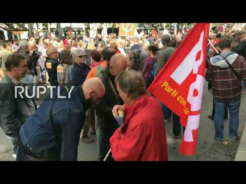 LIVE: Protests against labour law reforms hit Nantes
