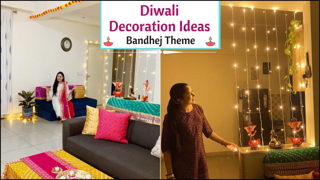 Last Minute Diwali Decoration Ideas   Diwali Decoration Ideas At Home   Easy DIY Diwali Decor Ideas