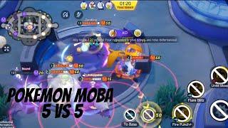 Game Android Moba 5 Vs 5 Terbaru Pokemon Unite Beta Youtube
