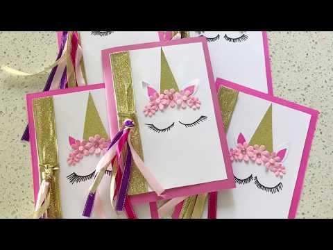 beautiful-handmade-unicorn-party-invitations
