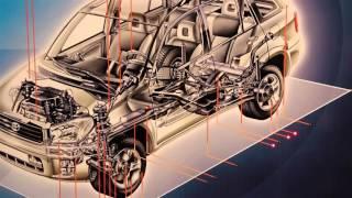 Электрифицированный стенд ''Основные узлы и агрегаты автомобиля иностранного производства (Toyota)''