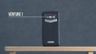 Leagoo Venture 1  Люксовый дизайн смартфона из кожи и металла