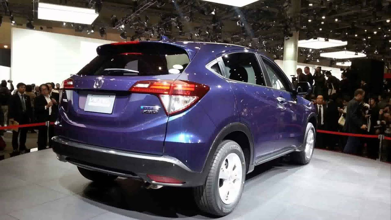 honda 2014 honda vezel hybrid suv youtube. Black Bedroom Furniture Sets. Home Design Ideas