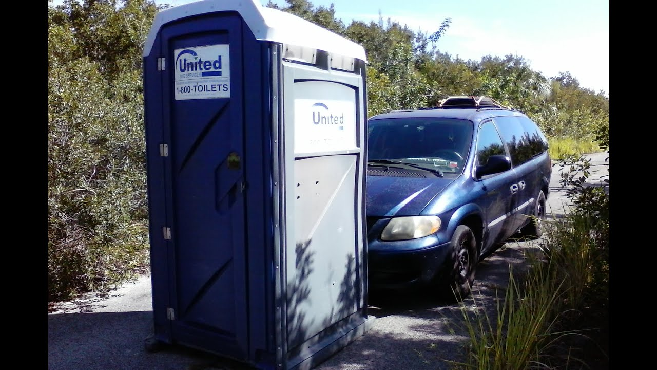 Urban Stealth Camping A Crappy Idea Pushing An Outhouse