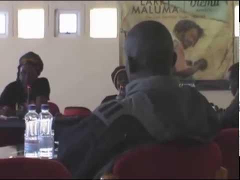 Larry Maluma Media Briefing in Lusaka, Zambia - P1