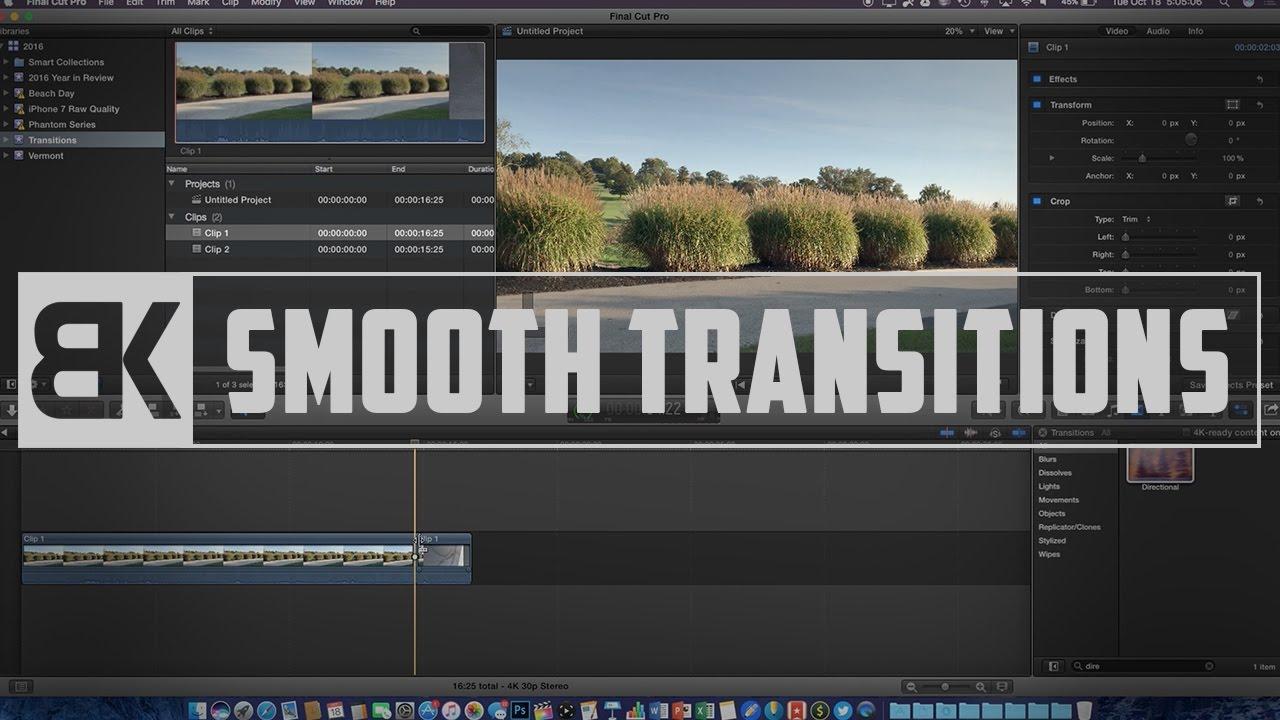 final cut pro 7 transitions plugins