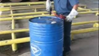 Sistema para abrir tambores de lata de forma segura kaizen 185