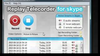 Skype Recorder for Windows - Replay Telecorder for Skype - an Introduction