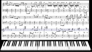 Уроки игры на фортепиано - (Джаз) Erroll Garner style#1