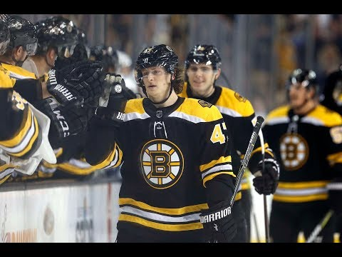 Torey Krug has been a spark plug for Boston Bruins' offense, and he proved it again in win over Red Wings