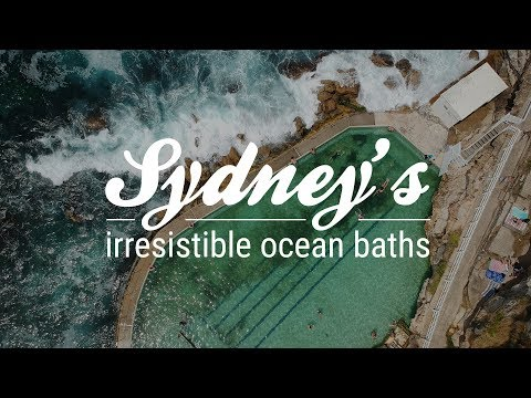 Sydney's irresistible ocean baths