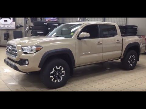 Tan Toyota Tacoma >> 2017 Toyota Tacoma Trd Off Road Review