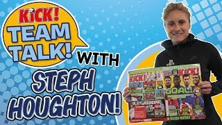 England Team Talk with Steph Houghton