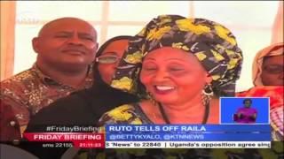 Deputy President William Ruto tells off opposition leader Raila Odinga over Kenya's economy