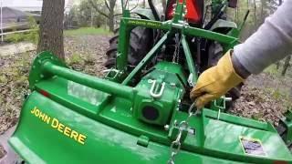 John Deere Tractor 3038e with 655 Tiller - (Part 2)