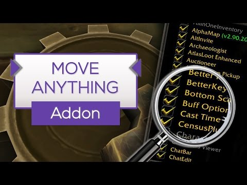 MoveAnything | Standard Interface umbauen - Addon Tipp [WoW]