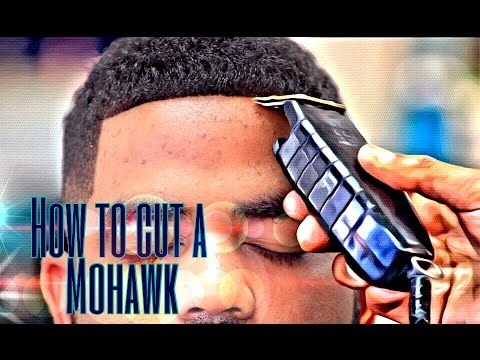 how to cut a mohawk