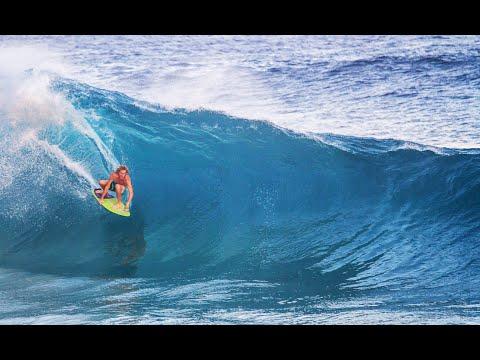 PRO SKIMBOARDERS IN MASSIVE WAVES!!! *Slow Motion Version*