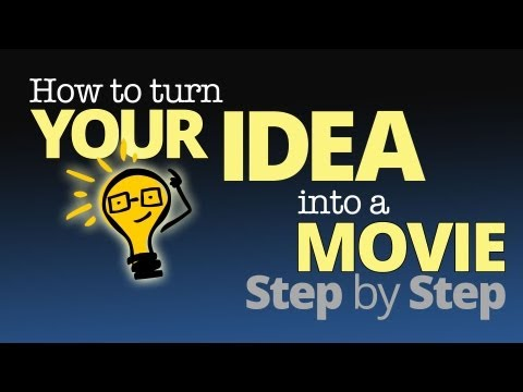 How to Turn Your IDEA into a MOVIE -- Step by Step