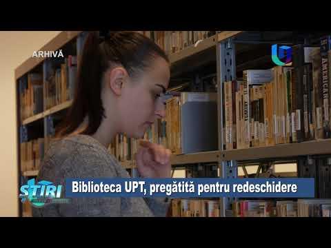 Biblioteca UPT, pregătită pentru redeschidere